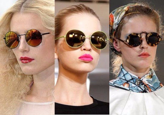 Круглые солнцезащитные очки. Кому они подходят?