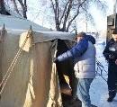 Украина побеспокоилась о бездомных