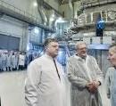 Президент и посол США  осмотрели «Источник нейтронов» в Харькове