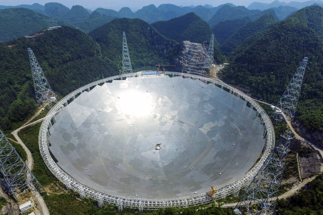 Китай «слушает инопланетян» с помощью крупнейшего в мире радиотелескопа