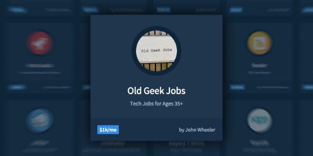 В США появился сайт с вакансиями для «гиков в возрасте»
