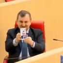 Грузинский политик опозорился, делая необычное селфи