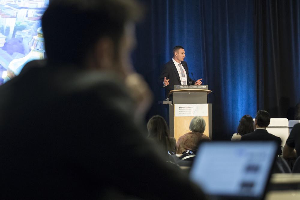 Виталий Кличко представил Киев на Конгрессе Всемирной ассоциации мегаполисов