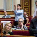 Савченко пояснила, зачем и кому показала средний палец в Раде (видео)