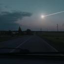 Кадры падения метеорита в Подмосковье (видео)