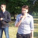 В Николаеве забросали яйцами Надежду Савченко