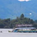 В Колумбии затонул пассажирский корабль: момент ЧП на видео