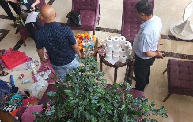 Росіяни попалися на крадіжці у турецькому готелі: хотіли вивезти туалетний папір й навіть квіти з корінням