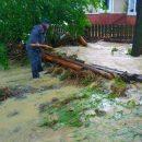 В Украине из-за урагана без света остается 121 населенный пункт