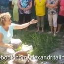 В Крыму люди вышли готовить еду на кострах (видео)