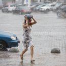 На Украину обрушится мощный циклон