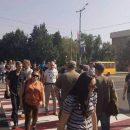 Громкий скандал в Запорожье: участники АТО устроили акцию протеста (видео)