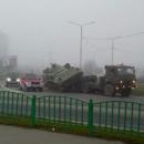 Россияне развеселили соцсети курьезным ДТП с участием военных