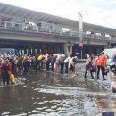 Улицы Киева затоплены после сильного ливня