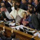 Геращенко – депутатам: «Я не боюсь боевиков, вас тем более, на место сели!»