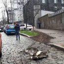 Появилось кадры угона бронированного Мерседеса с документами нардепа Грановского