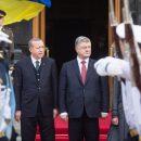 О чем договорились Порошенко и Эрдоган