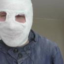 Мужчина ради «лайков» замуровал свою голову в цементе