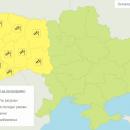 В 10 областях Украины объявлено штормовое предупреждение на пятницу и субботу