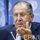Лавров заявил, что Украина напала на Донбасс