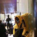 Вертолетную площадку Януковича взяли под контроль националисты, которые выдвинули требования