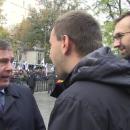 «За Иловайск!»: Парасюк подрался с экс-министром обороны под Радой (видео)