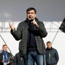 Саакашвили заявил, что митингующим под Радой приносят еду из ресторанов