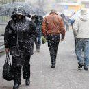 Синоптики предупреждают о порывах ветра и мокром снеге в Украине