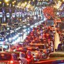Киев парализовали рекордные 10-балльные пробки