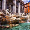 В Риме «закровоточил» легендарный фонтан Треви