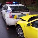 В Киеве произошло масштабное ДТП с участием патрульных