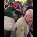 В США полицейский успокоил пьяную женщину ударом в лицо