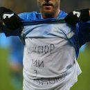 Показал в камеру: Ярмоленко совершил неожиданный поступок после гола Словакии