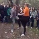 На Херсонщине школьницы устроили жестокий «бой без правил»