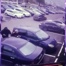 Улов в три миллиона: кадры разбойного нападения на мужчину в Киеве (видео)
