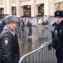 Экс-замглавы милиции Киева засветился в охране матча на стадионе в Москве (видео)