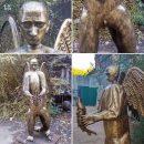 Медведь с крыльями: в РФ сделали угарную «голую» скульптуру Путина