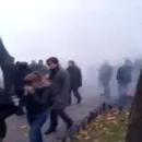Взрывы, газ, дым: Очевидцы засняли противостояния в Одессе