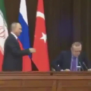 Как Путин уронил стул турецкого президента в Сочи