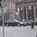 Кортеж Гройсмана грубо нарушил ПДД (видео)