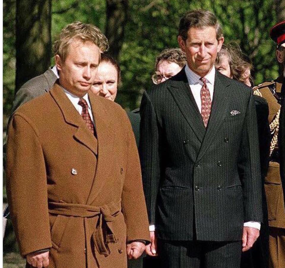 На встречу с принцем в кимоно: в сети смеются над «стильным» Путиным