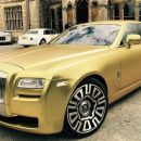 Валюту не предлагать: золотой Rolls-Royce Ghost за 16 биткоинов