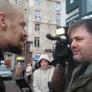 Конфликт бойца «Правого сектора» и скандального блогера в Киеве: появилось полное видео