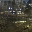 Появилось видео, как в Киеве внедорожник снес прохожего на пешеходном переходе (видео)