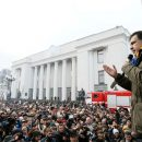 Столкновения под Октябрьским дворцом: Саакашвили отозвал своих сторонников