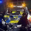 Пьяный украинец на фуре раздавил полицейское авто в Нидерландах