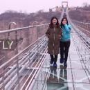 Не для слабонервных: В Китае показали самый длинный стеклянный мост