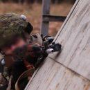 Появились кадры учений спецназа Нацгварии с применением лазеров