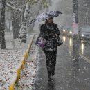 Украинцев предупредили о сильных снегопадах, метелях и гололеде