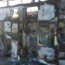 52 погибших: появились ужасающие кадры с горящим автобусом в Казахстане (видео)
